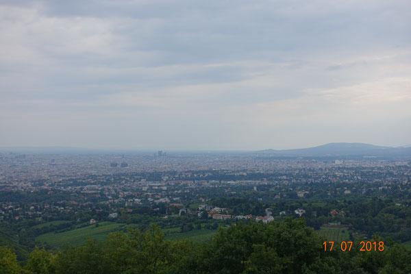 Sicht auf Wien