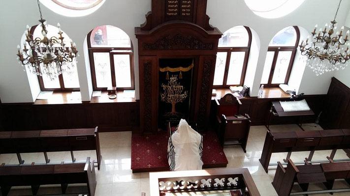 Begegnung mit der jüdischen Gemeinde in Tschernoviz