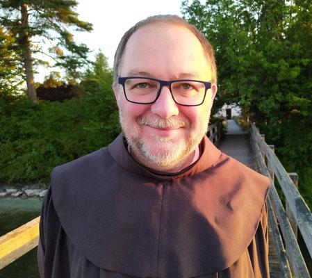 Br.Hans Lenz, Franziskaner auf der Insel Werd (CH)