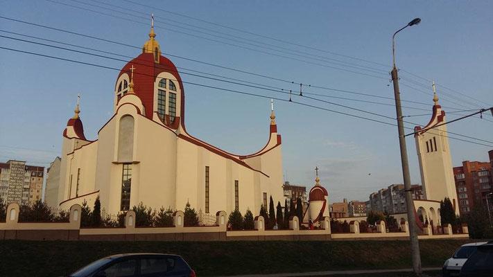 Besuch bei den griechisch-katholischen (unierten) Franziskaner