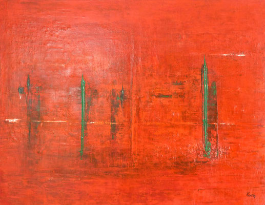 Nr. 271 Japan, Acryl auf Leinwand, 70 x 90 cm, 220 €