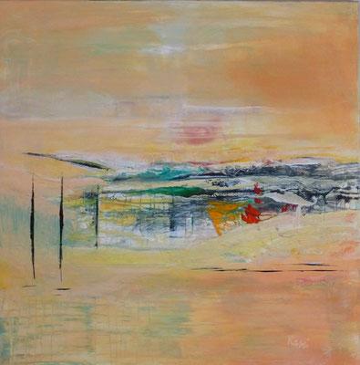 Nr. 277 In Italien, Acryl auf Leinwand, 80 x 80 cm, 129 €
