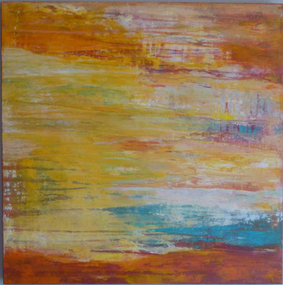 Nr. 307 à Midi, Acryl auf Leinwand, 80 x 80 cm, 220 €