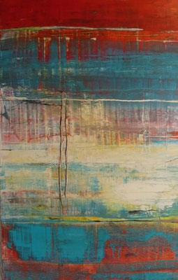 Nr. 294 Temperatures, Acryl auf Leinwand, 100 x 70 cm, 220 €