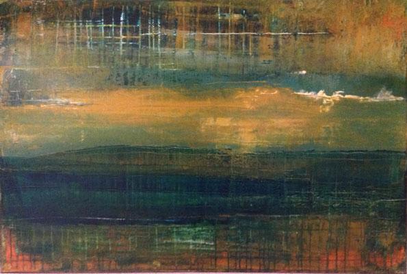 Nr.  300 Esperanza , Acryl auf Leinwand, 90 x 60 ,  210 €