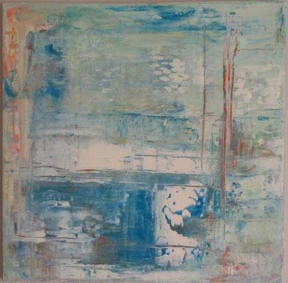 Nr. 268 Einblicke II, 58 x 58 cm, 45 €