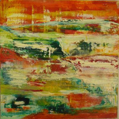 Nr. 312 Dynamik, Acryl auf Leinwand, 80 x 80 cm, 240 €