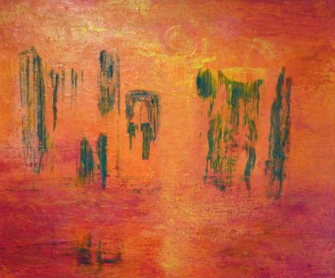 Nr. 221 Thailand, Acryl auf Leinwand, 50 x 60 cm, 79 €