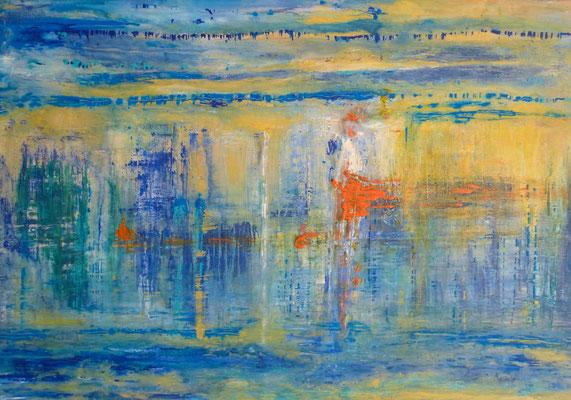 Nr. 236 Vamos, Acryl auf Leinwand, 130 x 90 cm, 280 €