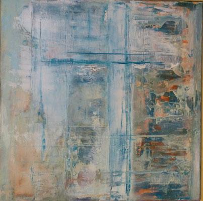 Nr. 266 Einblicke I, 58 x 58 cm, 45 €