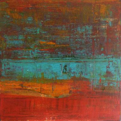 Nr. 289 Hope, Acryl auf Leinwand, 60 x 60 cm, 130 €