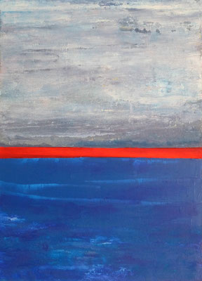 Nr. 272 Splitting, Acryl auf Leinwand, 70 x 50 cm, 79 €