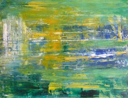 Nr. 219 Irland, Acryl auf Leinwand, 60 x 70 cm, 89 €