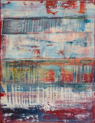 Nr. 265 Ebenen, Acryl auf Leinwand, 90 x 70 cm, 190 €
