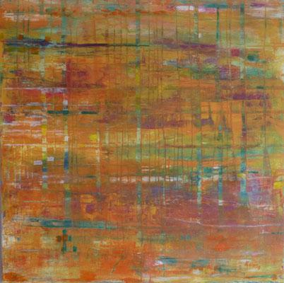 Nr. 313 Durchblick, Acryl auf Leinwand, 80 x 80 cm, 180 €
