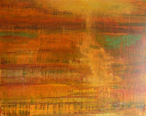 Nr. 290 Fin d'été, Acryl auf Leinwand ,100 x 80 cm, 220 €