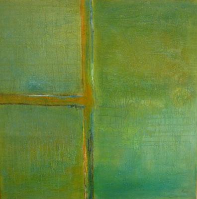 Nr. 302 Open Window, Acryl auf Leinwand, 100 x 100