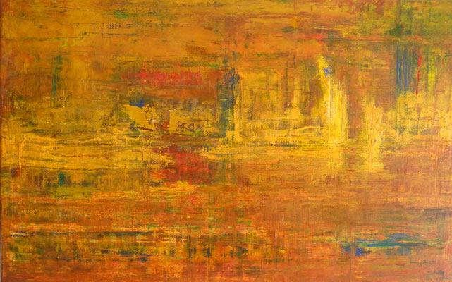 Nr. 258 Ende des Sommers, Acryl auf Leinwand, 116 x 75 cm, 210 €