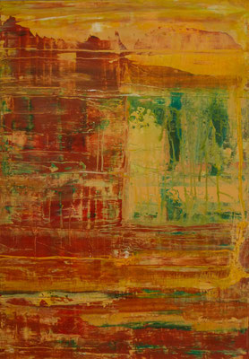 Nr. 262 Terra Australis, Acryl auf Leinwand, 100 x 70 cm, 190 €