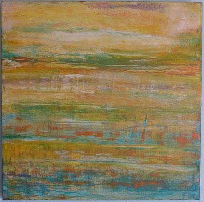 Nr. 308 Le Matin, Acryl auf Leinwand, 80 x 80 cm, 220 €