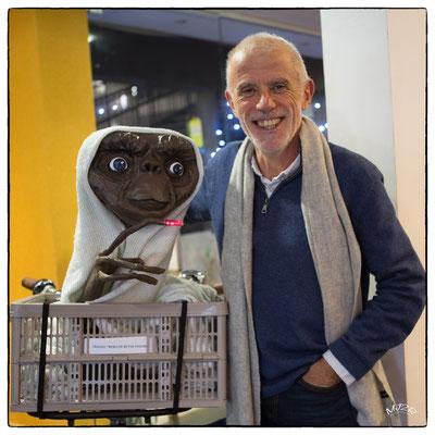 """Jean-Marie Tixier et """"ET"""""""