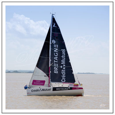 Bretagne Credit mutuel skipper Corentin Horeau