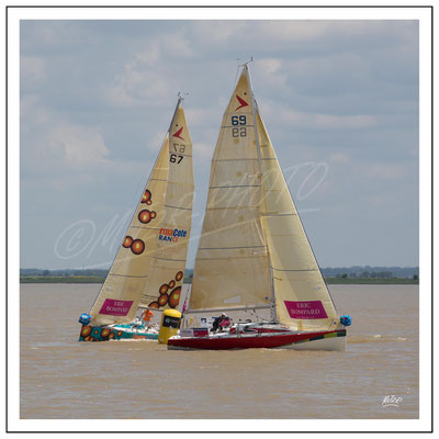 Jehol skipper Didier Bouillard et Thermacote  skipper Livory Yanning