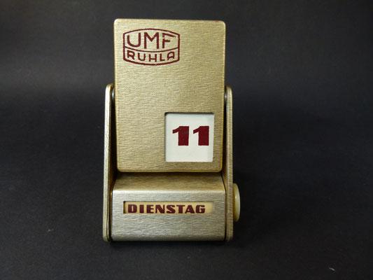 UMF Ruhla Ewiger Kalender aus Chefetage