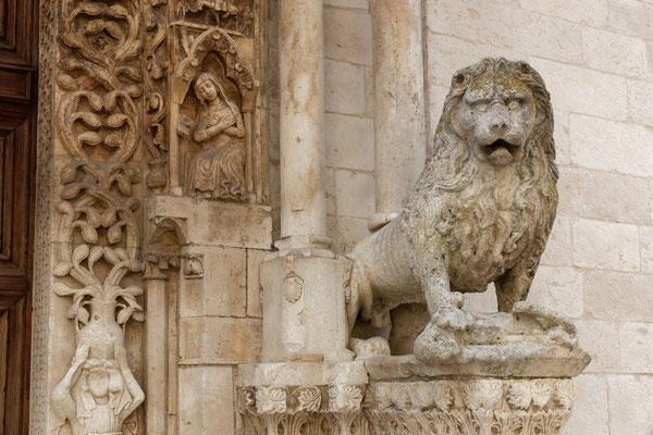 Löwenportal der Kathedrale von Altamura