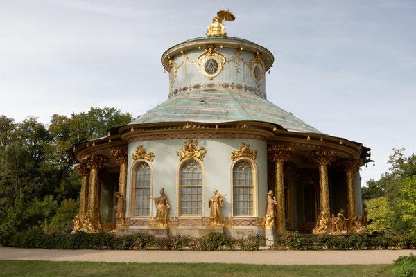 Chinesisches Teehaus im Park von Schloss Sanssouci
