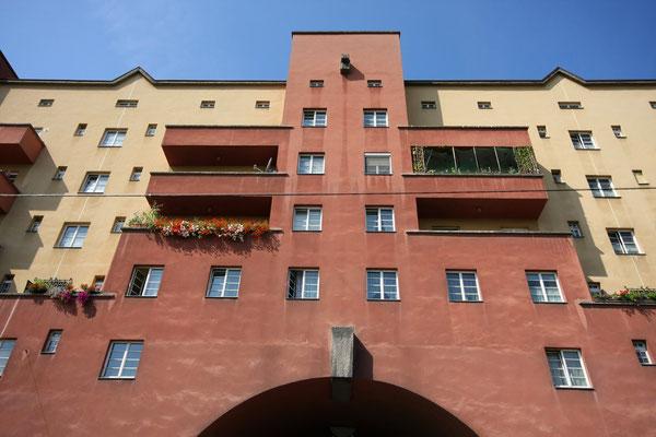 Fassade des Karl-Marx-Hofs