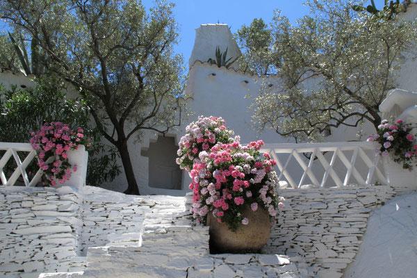 Die Villa von Salvador Dali in Port Lligat