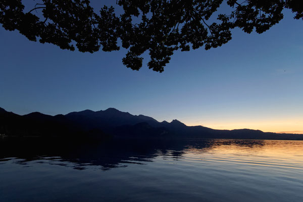 Abendstimmung am Walchensee