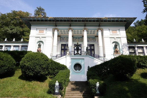 Wagner-Villa, heute Ernst Fuchs Museum
