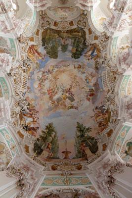 Deckengemälde Pfarrkirche Sankt Peter und Paul Steinhausen