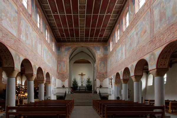 Romanische Stifskirche St. Georg, Oberzell