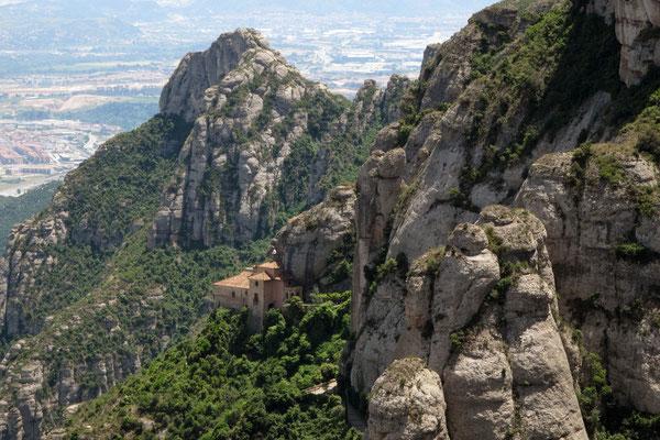 Einsiedelei in der Nähe des Klosters Montserrat