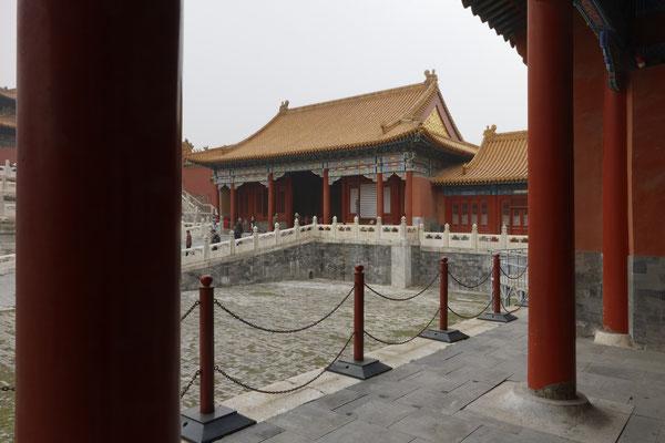 Kaiserpalast, Seitenpavillons