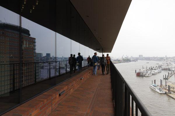 Aussichtsterrasse der Elbphilharmonie