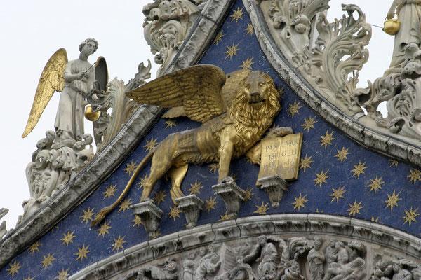 Das Wahrzeichen Venedis am Markusdom