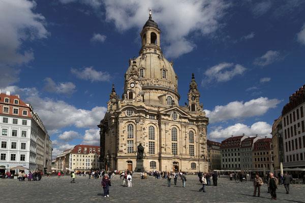 Altmarkt mit Frauenkirche