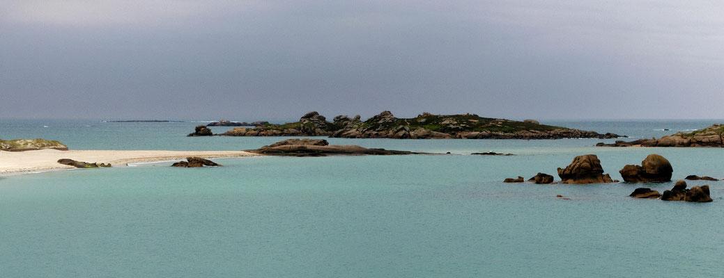 Bretonische Küste bei Trégastel
