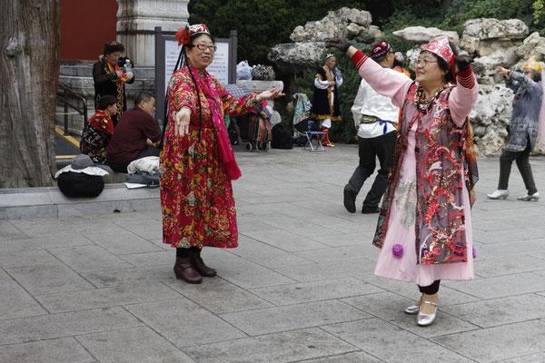 Tanzaufführung im Park