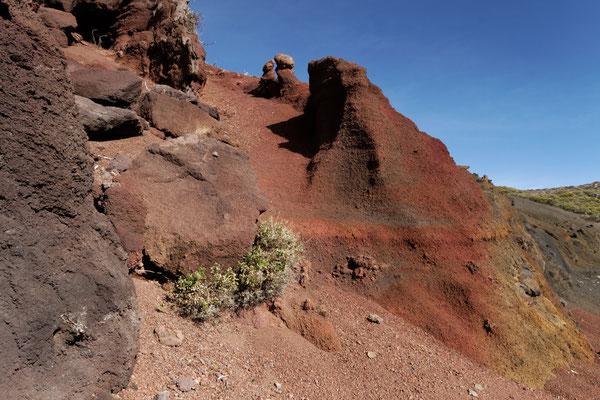 Vulkanische Ablagerungen