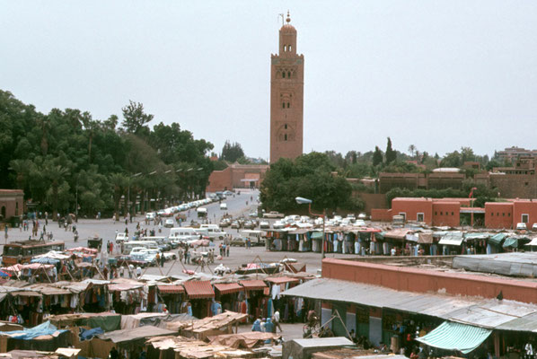 Marrakesch, Djamâa el-Fna