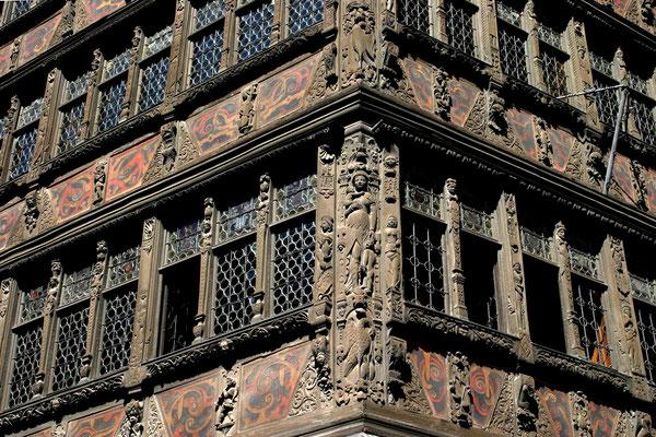 Straßburg Fassade des Kammerzellhauses