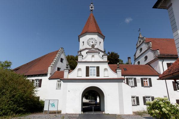 Portal der Klosteranlage von Bad Schussenried