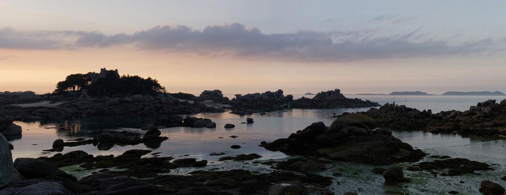 Bretonische Küste bei Ploumanac'h