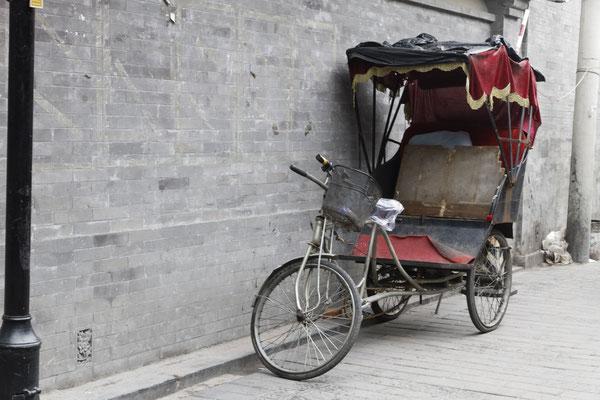 Alte Fahrrad-Rikscha