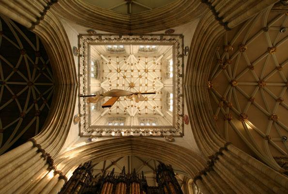 Innenansicht der Kathedrale von York